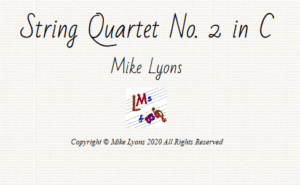 String Quartet No. 2 in C