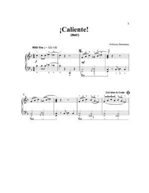 CALIENTE – piano solo
