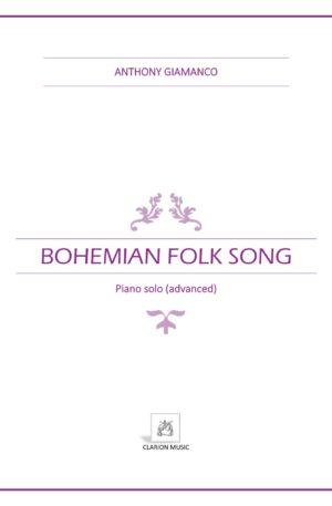 BOHEMIAN FOLK SONG – advanced piano solo