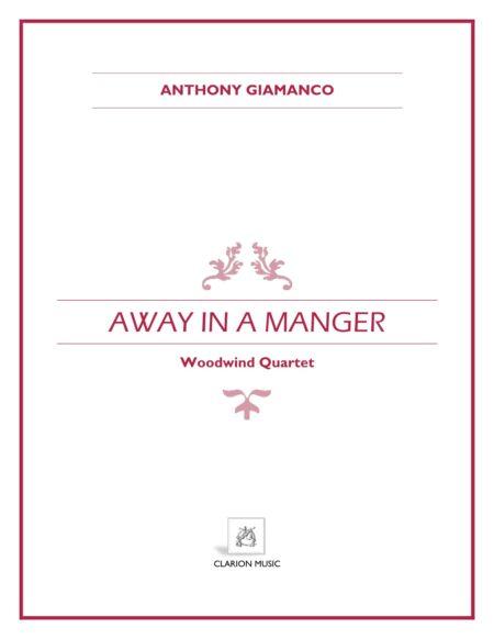 AWAY IN A MANGER -woodwind quartet