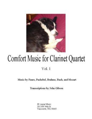 Comfort Music for Clarinet Quartet