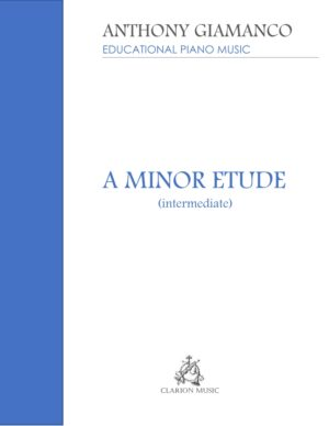 A MINOR ETUDE – intermediate piano