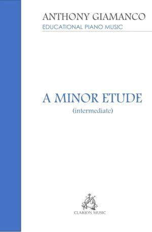 A MINOR ETUDE – intermediate piano