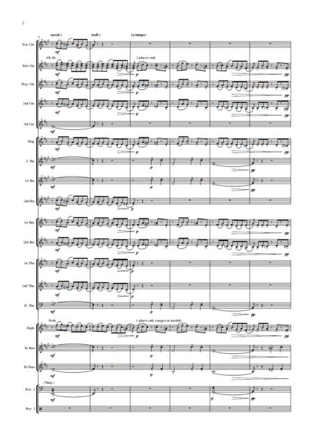 Prelude in C-sharp minor (Rachmaninoff, arr. Rob Bushnell) - Brass Band (Preview 5)