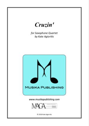 Cruzin' – for Saxophone Quartet