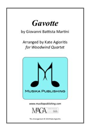 Gavotte – for Woodwind Quartet