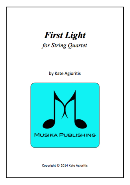 First Light - for String Quartet