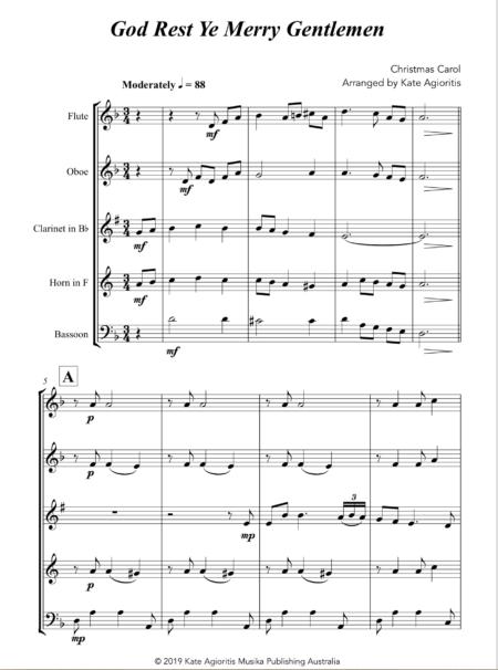 God Rest Ye - Wind Quintet1