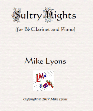 Bb Clarinet Solo – Sultry Nights