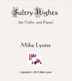 Violin Solo – Sultry Nights