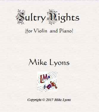 Sultry nights violin