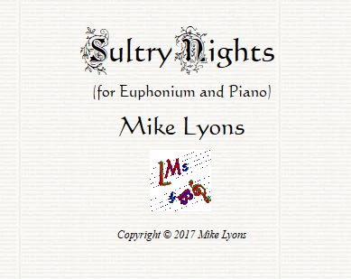 sultry nights euph