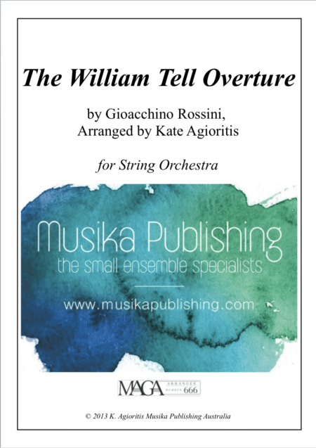 William Tell Overture String Orchestra