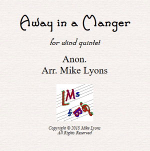 Away In a Manger – Wind Quintet