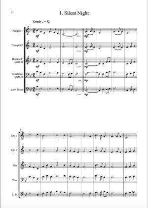 Carols for Four – 15 Carols for Brass Quartet