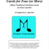 Carols for Four - Brass Quartet