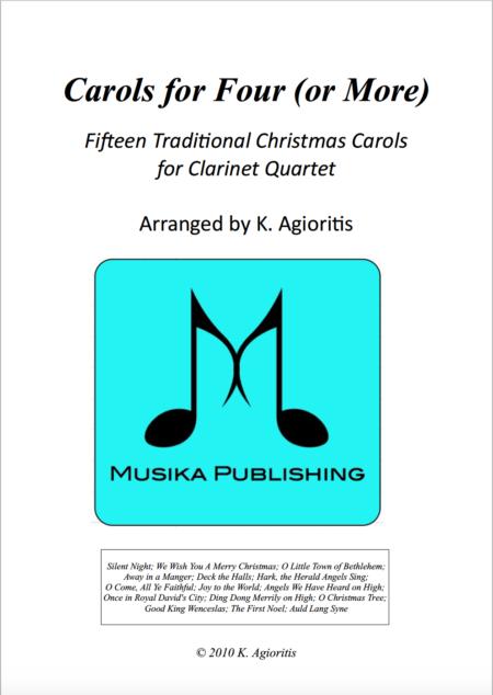Carols for Four - Clarinet Quartet