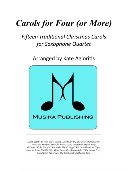 Carols for Four - Sax Quartet