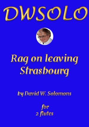 Rag on leaving Strasbourg for flute duo