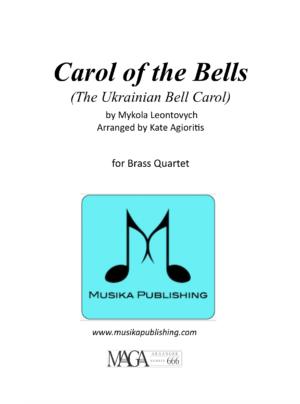 Carol of the Bells – for Brass Quartet