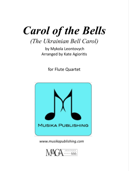 Carol of the Bells Flute Quartet