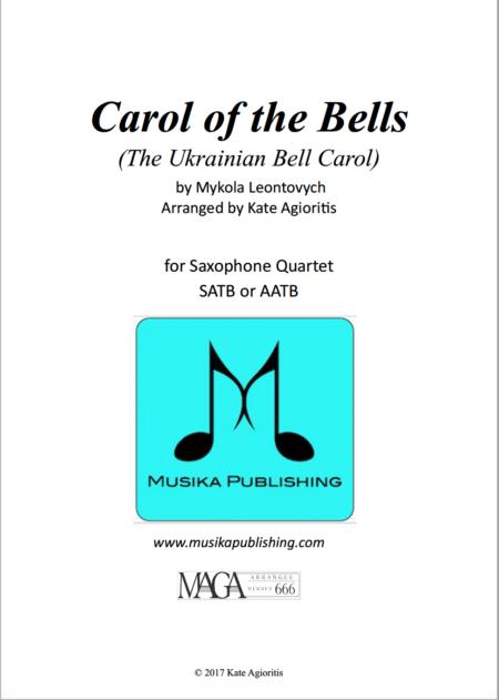 Carol of the Bells Sax Quartet