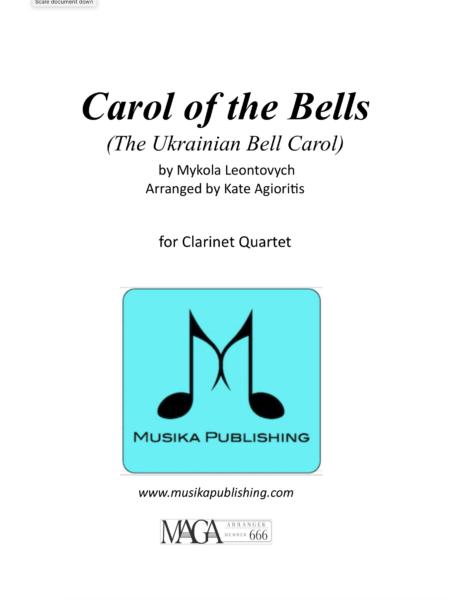 Carol of the Bells Clarinet Quartet