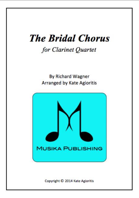 Bridal Chorus Clarinet Quartet