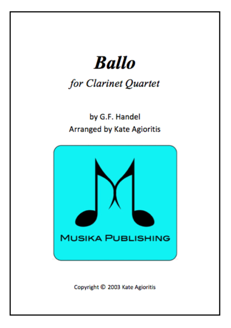 Ballo Clarinet Quartet