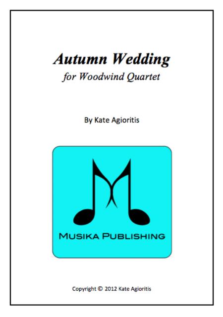Autumn Wedding Woodwind Quartet