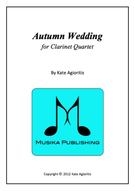 Autumn Wedding Clarinet Quartet