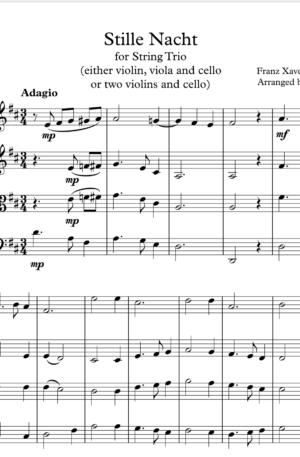 Stille Nacht – String Trio