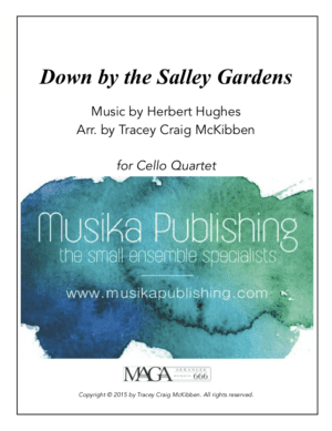 Down by The Salley Gardens – Cello Quartet