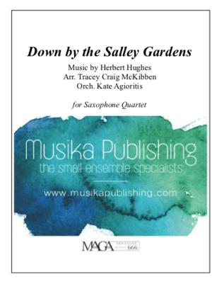 Down by The Salley Garden – Saxophone Quartet