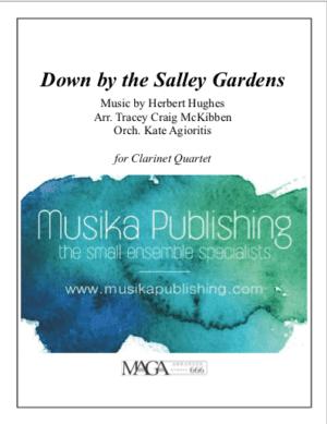 Down by The Salley Garden – Clarinet Quartet