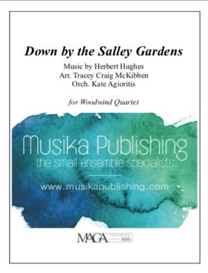Down by The Salley Garden – Woodwind Quartet