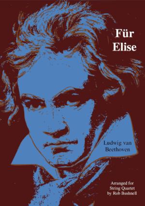 Für Elise (Beethoven) for String Quartet, Clarinet Quartet and Saxophone Quartet