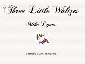 Three Little Waltzes
