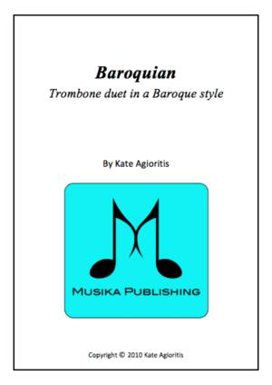 Baroquian – for Trombone Duet