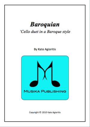 Baroquian – for Cello Duet