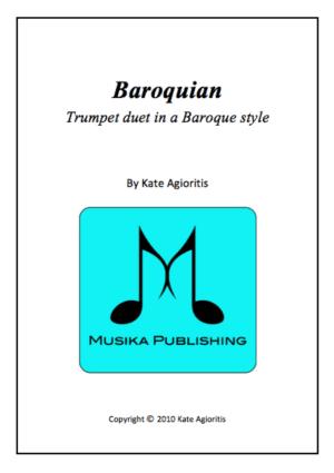 Baroquian – for Trumpet Duet