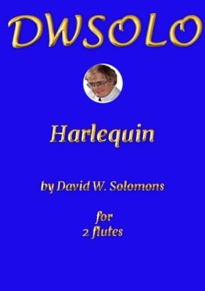 Harlequin (Arlecchino) for flute duo