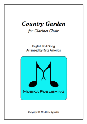 Country Garden – Jazz Arrangement for Clarinet Choir