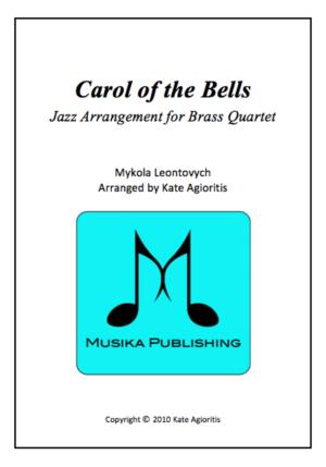 Carol of the Bells – Jazz Arrangement for Brass Quartet