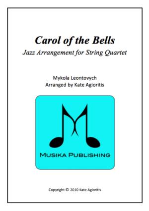 Carol of the Bells – Jazz Arrangement for String Quartet