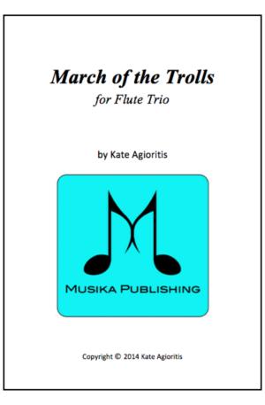 March of the Trolls – Flute Trio