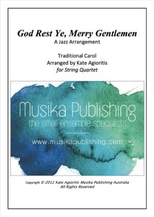 God Rest Ye Merry Gentlemen – Jazz Arrangement for String Quartet