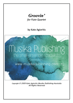Groovin' – Flute Quartet