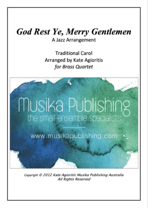 God Rest Ye Merry Gentlemen – Jazz Arrangement for Brass Quartet