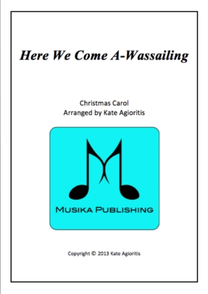 Here We Come A-Wassailing – Jazz Carol for String Quartet